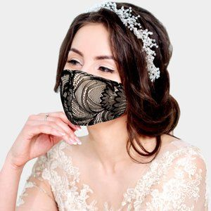 Laced Fashion Mask